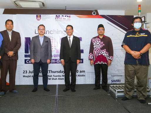 Important milestones achieved through MARii's collaboration with Malaysian universities