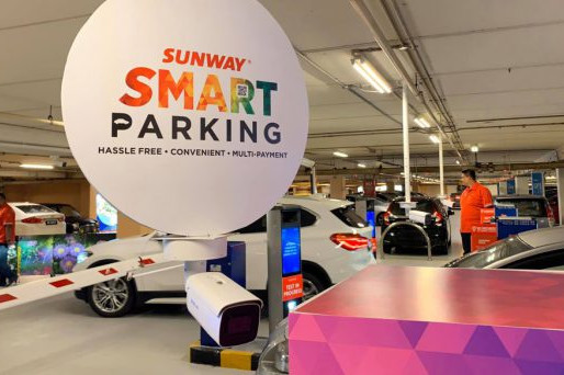 Sunway Unveils Cashless and Ticketless Parking System
