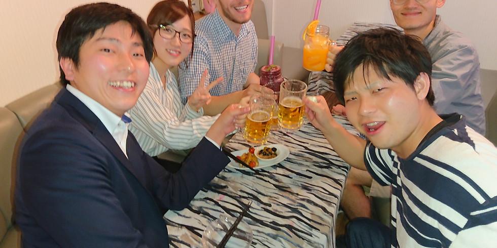 Happy Hour English 飲みニュケーション 毎週木・金曜日