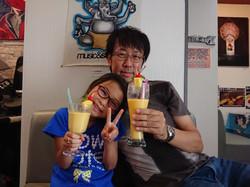 Nozomi & dad