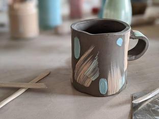 Slab Built Mug