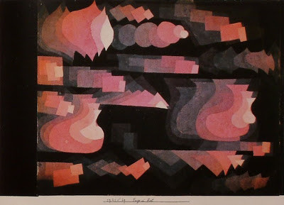 Paul Klee, Fugue en rouge