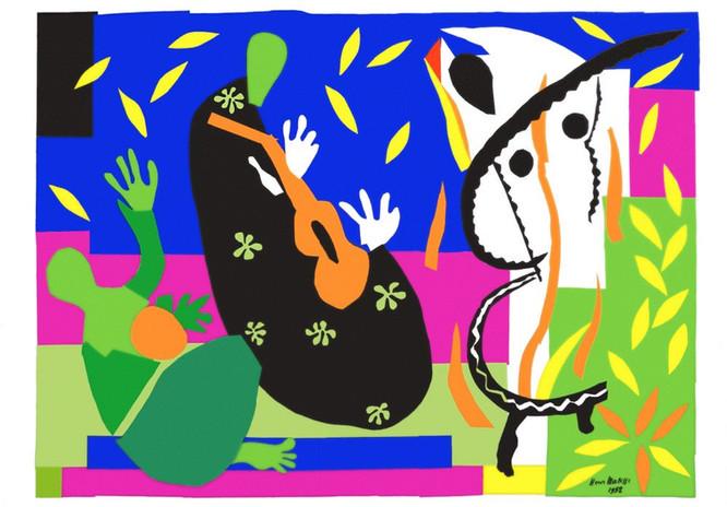 La tristesse du roi, Henri Matisse