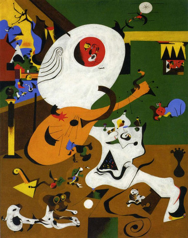 Joan Miro, Intérieur hollandais