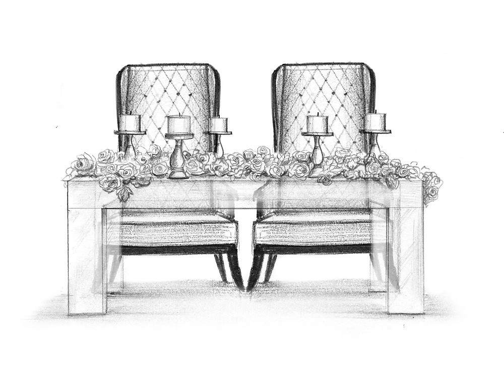 Wedding Sketch_Atlanta Wedding Planner