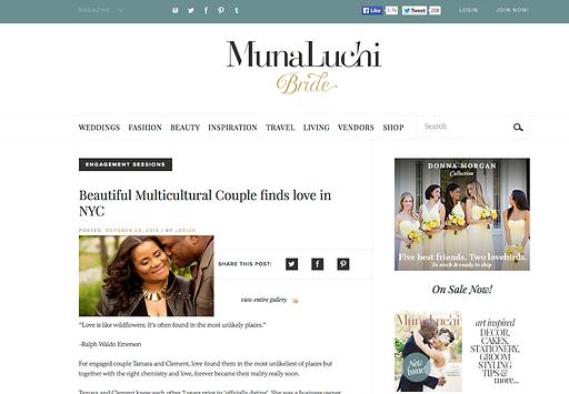 Munaluch bride feature