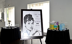 Breakfast at Tiffany's baby shower for a boy