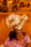 Igbo gele Igbo traditional wedding Alakija Studios