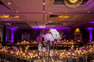 Purple wedding reception Atlanta, GA Nigerian wedding planner Fotos by Fola