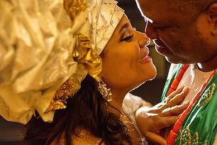 Igbo bride and groom, unique gele, Atla GA Alakija Studiosta