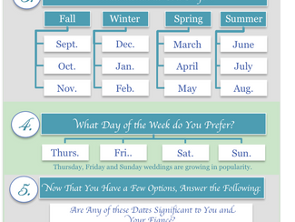 """So, Have You Picked a Date Yet?"" a Tool to Help You Choose Your Wedding Date – Blog Post + [Infogra"