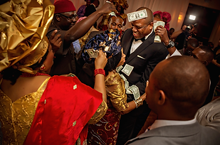Groom dancing with mom, Igbo Wedding, spraying, money dance, Atlanta, GA Alakija Studios