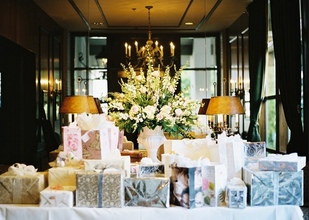 Wedding registry gifts