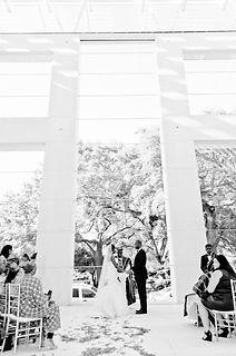 Jepson Center for the Arts wedding ceremony
