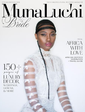 Munaluchi Bride Spring 2018 magazine issue
