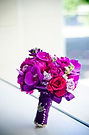 Fuchsia peonies and orchid Bouquet-Purple Flowers-Bride's bouquet-Wedding Flowers-Fotos by Fola