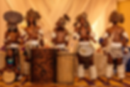 African drum ad dance troop, live entertainment