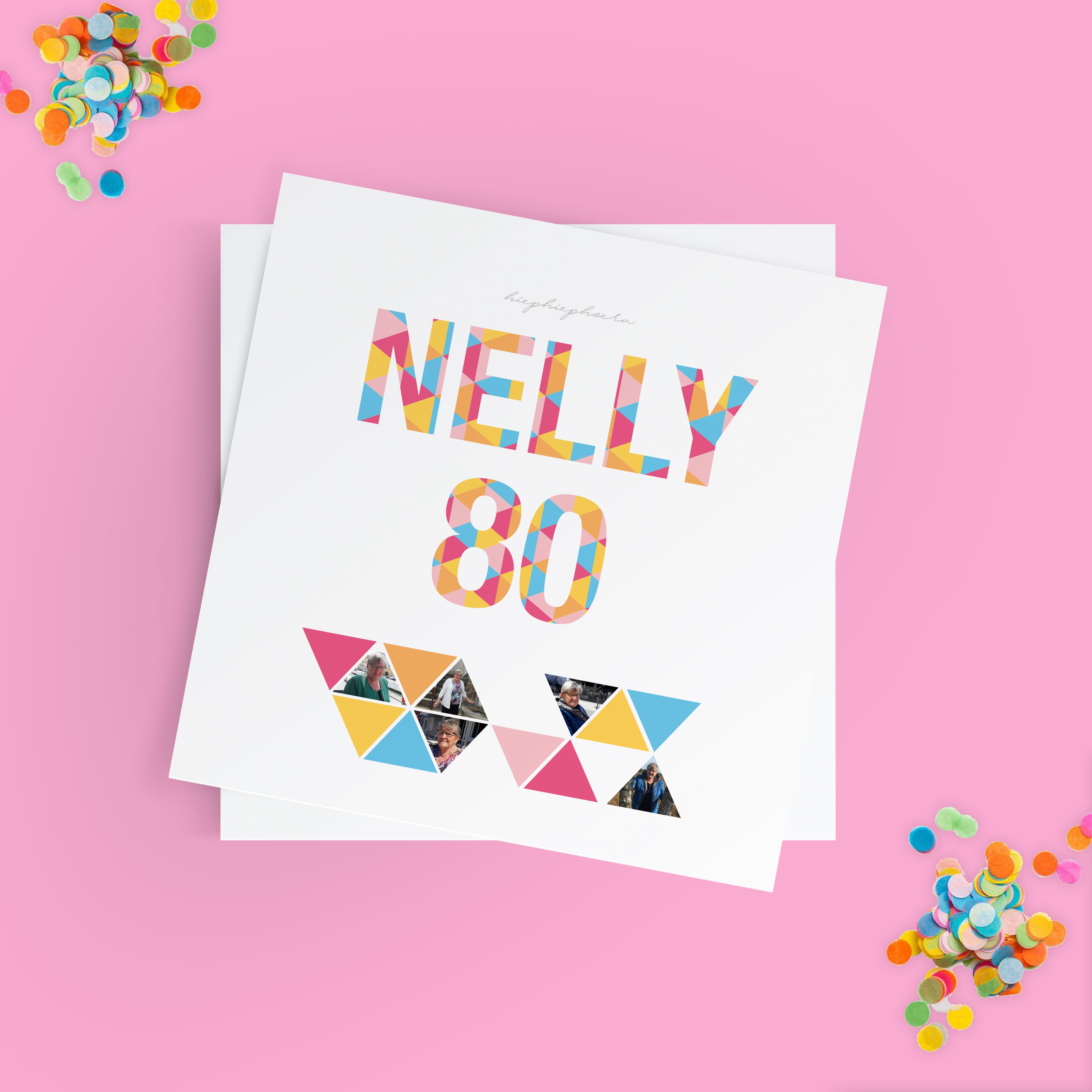 Nelly 80 jaar