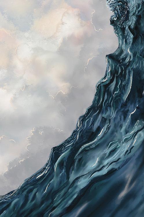 """Angry Seas (IV)"" canvas print"