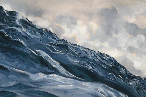 """Angry Seas (I)"" canvas print"