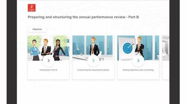 Preparación Y Estructuración De La Revisión Anual De Desempeño - ELearning