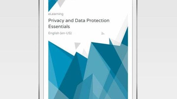 Fundamentos De Privacidad Y Protección De Datos - ELearning