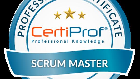 Examen de certificación Scrum Master  (SMPC®) Avalado por CertiProf