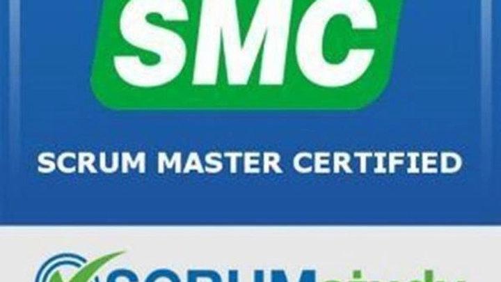 Scrum Master Certified (SMC) curso de 16 hrs con examen de certificación