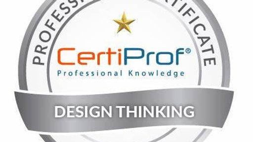 Examen de certificación Design Thinking avalado por CertiProf