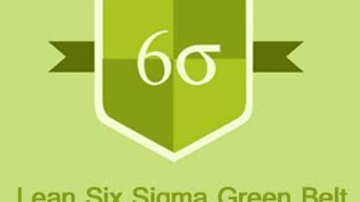 E learning Lean Six Sigma Green Belt
