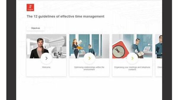 Las 12 Pautas Para Una Gestión Eficaz Del Tiempo: Curso De Aprendizaje Electróni