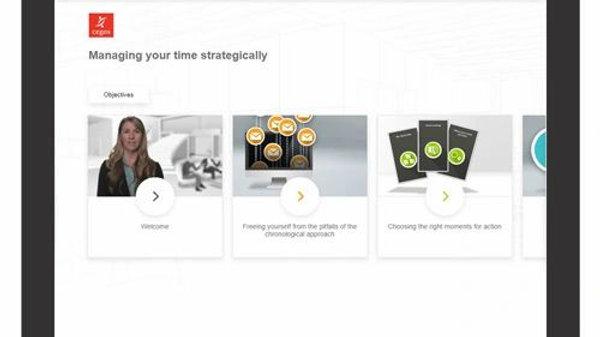 Administrar Su Tiempo Estratégicamente - ELearning