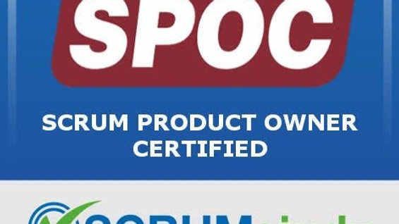 Scrum Product Owner Certified (SPOC )
