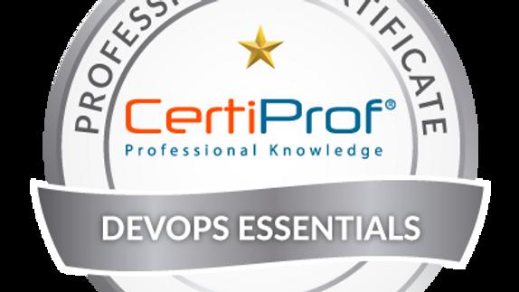 Examen de certificación  DevOps Essentials Avalado por CertiProf