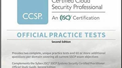 Ccsp Official (Isc)2 Practice Tests (Inglés) Pasta blanda –