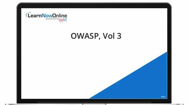 OWASP, Vol. 3- Elearning