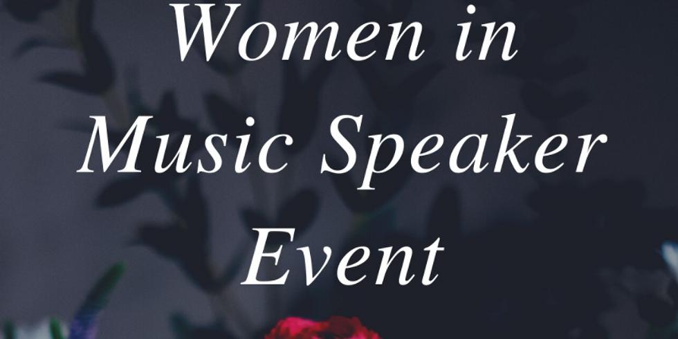 Tau Beta Sigma Women in Music Presentation