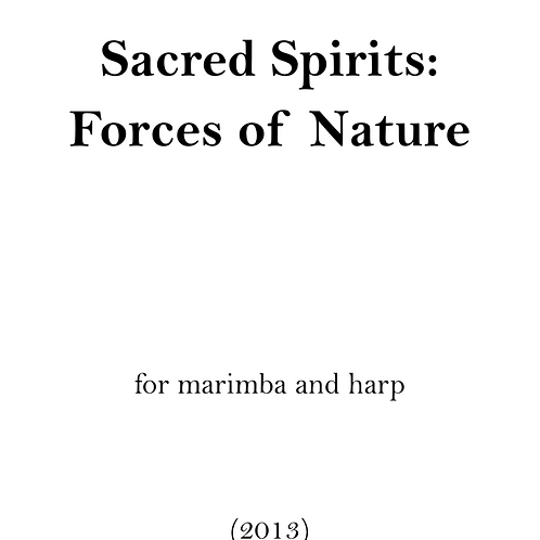 Sacred Spirits: Forces of Nature