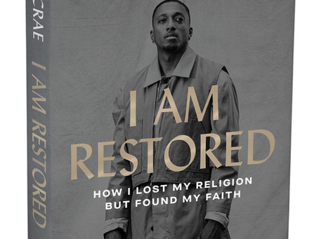 Lecrae Releases New Book and Partners with Grove Park Renewal