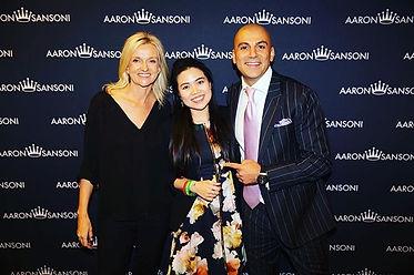 Anna Le with Kristina Karlsson & Aaron Sansoni