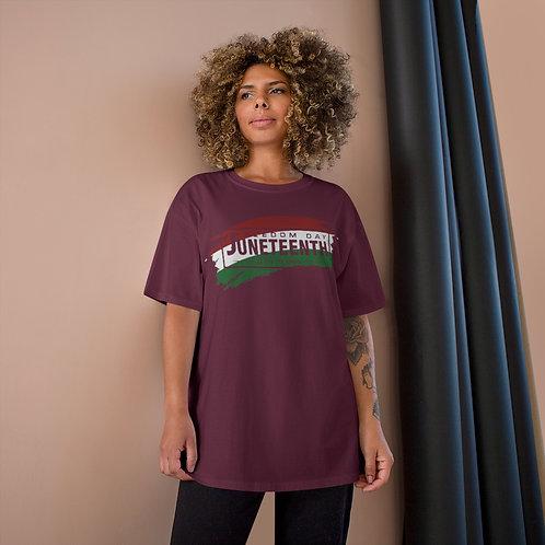 Juneteenth Celebration Champion T-Shirt