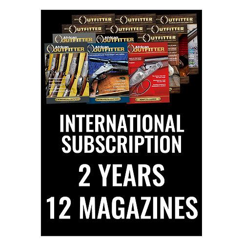 International 2 Year Subscription