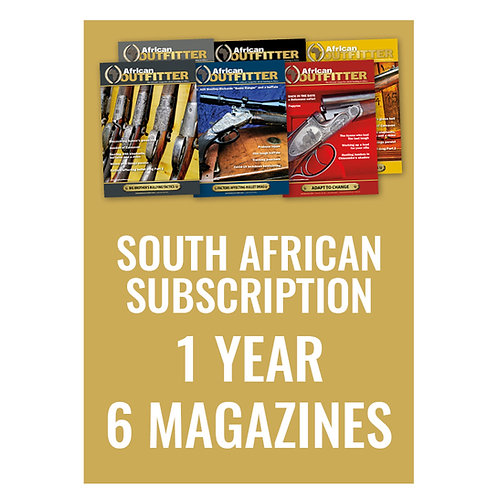 South African 1 Year Subscription