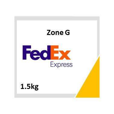 Zone G (1.5kg) - Fedex Voucher