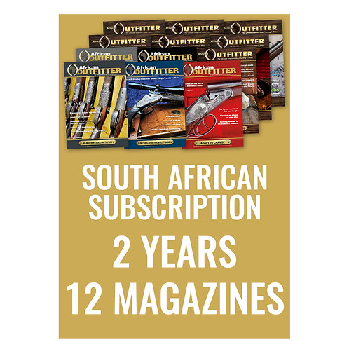 South African 2 Year Subscription