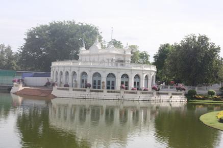 Construção ocidental no Bang Pan-In Palace