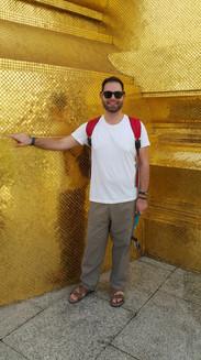 É tudo ouro mesmo no Grand Palace