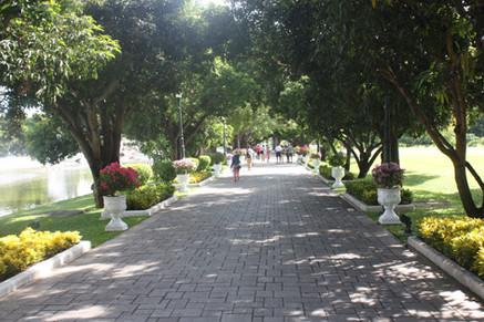 Entrada ao Bang Pan-In Palace