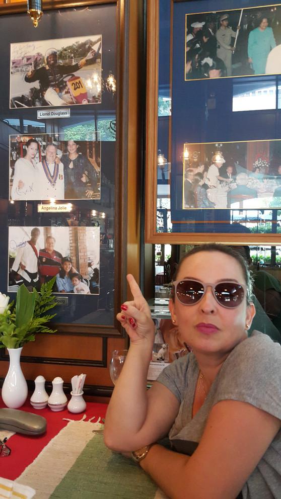 Restaurante frequentado por famosos em Chiang Mai