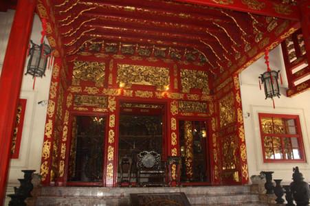 Construção chinesa no Bang Pan-In Palace